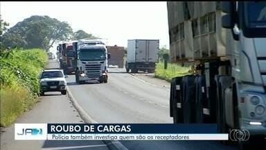 Polícia investiga roubo de carga de cerveja avaliado em R$ 150 mil, em Goiás - Corporação também apura quem são os comerciantes que alimentam esse tipo de crime.