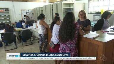 Prefeitura da capital libera lista de vagas remanescentes no dia 15 - Mais de 2.000 vagas ficaram disponíveis na primeira chamada escolar.