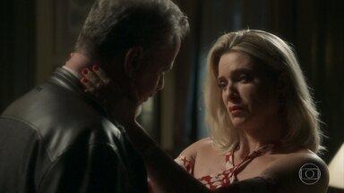 Marilda pede perdão a Eurico por ter feito acordo com Valentina - Prefeito afirma que a esposa deve esquecer o acordo e os dois se amam