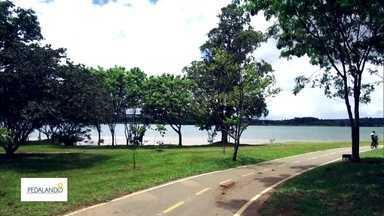 Passeio de bike pelo Lago Sul revela belas paisagens - Muitas pessoas só passam pelo local de carro e não imaginam como a cidade é bonita.