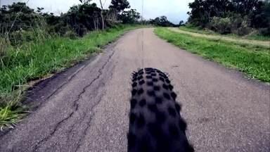 Globo Comunidade DF - Edição de 13/01/2019 - Passeio de bike pelo Lago Sul revela belas paisagens. Repórter encara prova de mountain bike em Diamantina (MG).