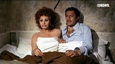 As belezas de Sophia Loren e Marcello Mastroianni