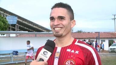 Autor de dois gols, Ítalo analisa vitória do 4 de Julho - Autor de dois gols, Ítalo analisa vitória do 4 de Julho