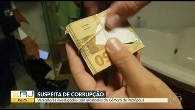Justiça afasta seis vereadores de Petrópolis suspeita de corrupção - Dos 15 vereadores eleitos em 2016, só 9 continuam no cargo.