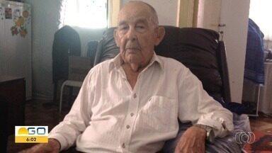 Inspetor Galeno, que visitava delegacia todos os dias, morre aos 104 anos, em Goiânia - Polícia divulgou nota de pesar.