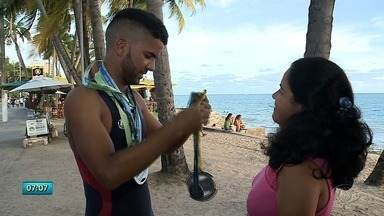 Atleta alagoano se prepara para campeonato mundial de triathlon que acontece na Suíça - Conheça Everson Rodrigues, o representante de Alagoas.