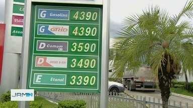 Preço da gasolina tem alta em Manaus - Procon vai fiscalizar repasse de aumento a consumidores.