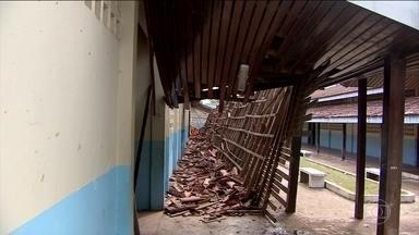 Estudantes de todo o país vão encontrar escolas com problemas graves na volta às aulas - O Bom Dia Brasil percorreu escolas do país afora para mostrar o descaso com a educação.