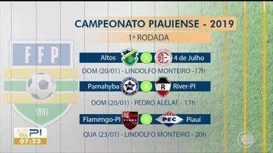 Campeonato Piauiense começa neste domingo (20) - Campeonato Piauiense começa neste domingo (20)
