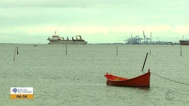Ibama não encontra relação entre as obras do Porto de Rio Grande e o aparecimento de lama - Assista ao vídeo.