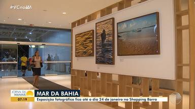 'Mar da Bahia': exposição reúne trabalhos de 13 fotógrafos; entrada é gratuita - A exposição fica até 24 de janeiro, no Shopping Barra.