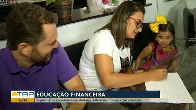 Educação Financeira na infância pode ajudar as famílias a controlar o orçamento - Os especialistas recomendam diálogo sobre economia com crianças.