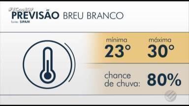 Confira a previsão do tempo em Belém e no interior do Pará nesta sexta-feira, 18 - Confira a previsão do tempo em Belém e no interior do Pará nesta sexta-feira, 18