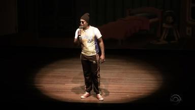 Nego Di apresenta novo show em Porto Alegre - Assista ao vídeo.