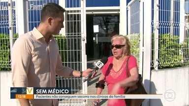 Pacientes não conseguem se consultar em clínica de Del Castilho - Sem salários muitos médicos não vão trabalhar. Enfermeiros se juntam para comprar agulhas e remédios para atender.