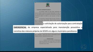 Ministério Público de Contas denuncia ex-secretário de segurança pública da Paraíba - Além de Cláudio Lima, também foi denunciado o dono de uma empresa que prestou serviço ao estado.