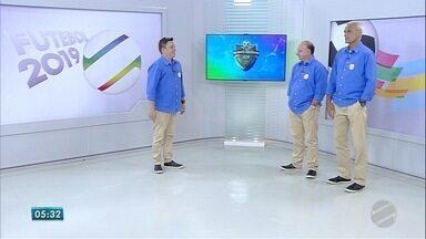 Análise da rodada de abertura Estadual de Futebol - Demetrius Garcia, Leomar Ferreira e Antônio Marcos comentam os primeiros jogos do campeonato.