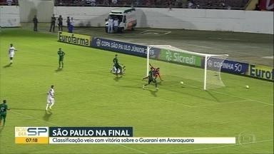 Tudo sobre o mundo do esporte com Thiago Oliveira no BDSP - São Paulo enfrentará o Vasco na final da Copinha