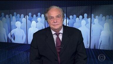"""Arnaldo Jabor comenta a crise na Venezuela - """"O poder simbólico da democracia é ralo, frágil, diante da extrema boçalidade e brutalidade dos Bolivarianos""""."""