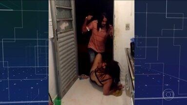 Polícia do Paraná investiga dois casos de violência contra mulheres - Testemunhas gravaram atos de agressão.