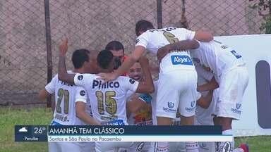 Depois de duas vitórias seguidas, Santos recebe o São Paulo no Pacaembu - O adversário também está com duas vitórias em dois jogos no Campeonato Paulista.