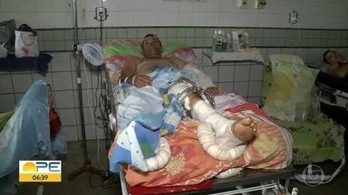 Cerca de 70% dos internados com traumas em hospital do Recife sofreram acidentes de moto - Dados são do Hospital da Restauração (HR), na área central.