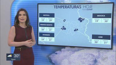 Veja como fica o tempo nesta segunda na região - Previsão é de temperaturas altas sem chances de chuva.
