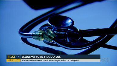 Exclusivo: gravações mostram esquema de pacientes que furam fila do SUS - As conversas telefônicas mostram como eram negociadas as cirurgias.