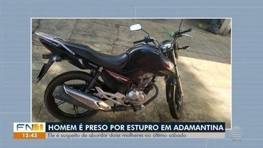 Personal trainer de 26 anos é preso por estupro, em Adamantina - Suspeito foi investigado e indiciado nesta quarta-feira (30). Polícia ainda apura envolvimento dele em uma tentativa de roubo.