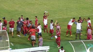 Dorense vence Sergipe de virada na Arena Batistão - Touro assume liderança provisória no Campeonato Sergipano.