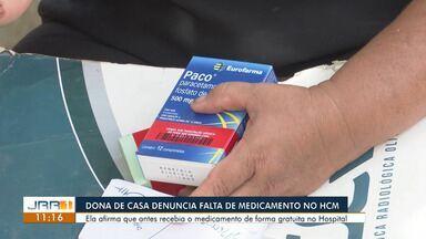 Família denuncia falta de medicamentos na rede pública de saúde em Roraima - Sem condições de comprar os remédios, dona de casa diz não saber como manter tratamento da filha.