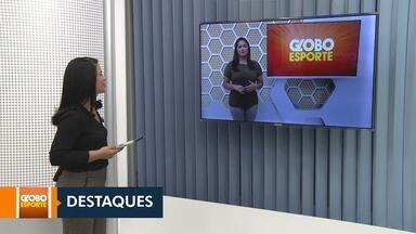 Esporte: confira os destaques do Globo Esporte desta quinta (31) - Encerram nesta quinta (31) as inscrições para o projeto 'Qualidade de Vida', na Vila Olímpica, em Boa Vista.