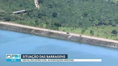 DF tem várias barragens com autorizações vencidas - As barragens são usadas para irrigação, recreação, regularização de vazões, hidratação de animais e abastecimento.