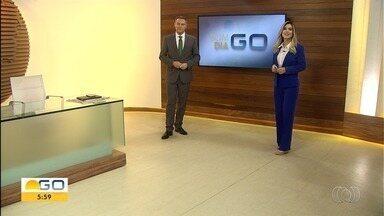 Veja os destaques do Bom Dia Goiás - Wellington Camargo deixa presídio após ser detido por não pagar pensão.