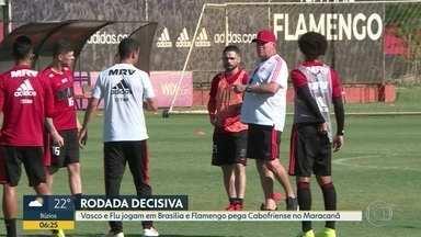 Rodada define semifinalistas - Vasco e Fluminense decidem no clássico em Brasília quem vai enfrentar Flamengo na Taça GB.