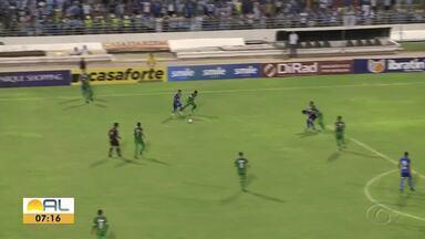 Tirou onda! Matheus Sávio tabela com Patrick Fabiano e dá uma bela assistência para Régis - Azulão venceu por 2 a 1.