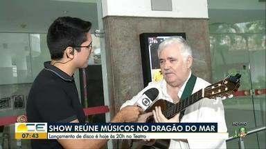 Show reúne mais de 40 músicos no Teatro do Dragão do Mar - Vão estar presentes músicos de três estados, além de uma cantora norte-americana.
