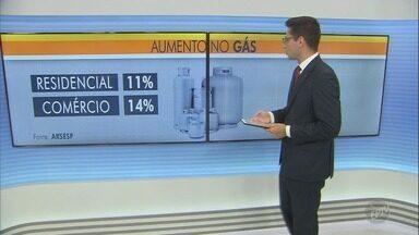 Preço do gás vai aumentar a partir desta sexta-feira (1°) - Reajustes contemplam diversos tipos de gás, desde o de cozinha até o Gás Natural Veicular (GNV), utilizado em veículos. Confira os aumentos.