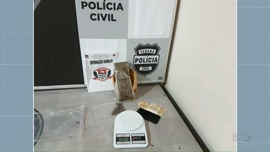 Denarc prende universitário por tráfico em Maringá - Suspeito estava com 1 quilo de maconha em casa.