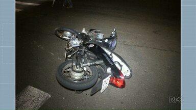 Motociclista morre em acidente na avenida Brasil nesta madrugada - É a terceira morte no trânsito de Maringá neste ano.