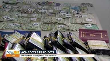 Prefeitura de Olinda antecipa serviço de devolução de documentos perdidos em prévias - Este ano, jáa foram encontrados vários objetos e documentos de estrangeiros