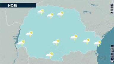 Previsão é de tempo instável no Norte do Paraná neste fim de semana - Temperaturas devem cair no início da semana.