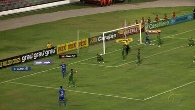 Confira os melhores momentos do jogo CSA X Murici - Azulão venceu por 2 a 1.