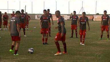 Após CRB abrir 3ª Rodada do Alagoano, time foca em jogo contra o Moto Club - Jogo será realizado domingo, no Rei Pelé.