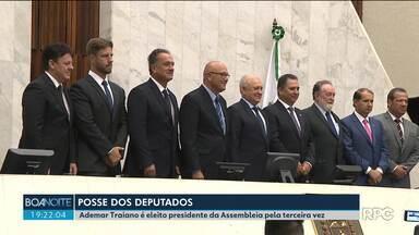Ademar Traiano (PSDB) é eleito presidente da Assembleia pela terceira vez - Os deputados estaduais tomaram posse em uma sessão solene na Assembleia Legislativa.