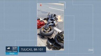 Giro de notícias: Motociclista morre em acidente na BR-101 em Tijucas - Giro de notícias: Motociclista morre em acidente na BR-101 em Tijucas