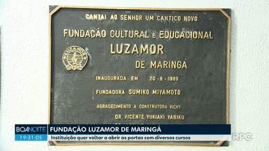 Fundação Luzamor reabre as portas - Voluntários pretendem reformar o lugar