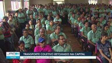 Transporte coletivo é parcialmente retomado na capital - Impasse durou 11 dias em Porto Velho.