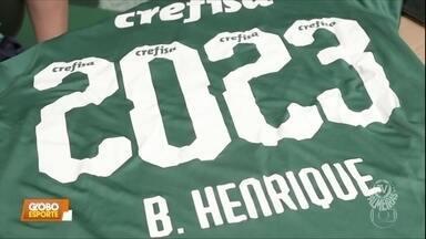Palmeiras confirma renovação de Bruno Henrique e faz mistério antes de clássico - Palmeiras confirma renovação de Bruno Henrique e faz mistério antes de clássico