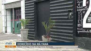 Segurança é morto a tiros enquanto trabalhava em Caruaru - Vítima foi assassinada na madrugada do sábado (2).